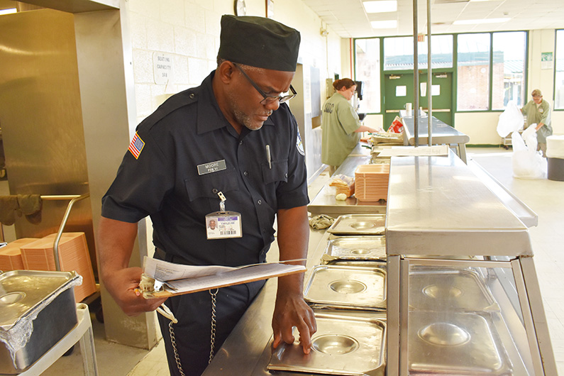 Food Services Specialist - Career Openings for The South Carolina Department of Corrections